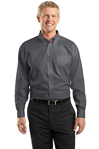 Non Iron Pinpoint Oxford XLT Charcoal ()