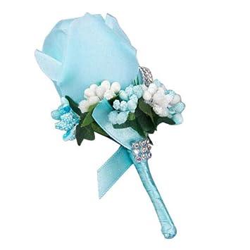Amazon.com: FidgetGear - Corsé de flores para novia, 4 ...