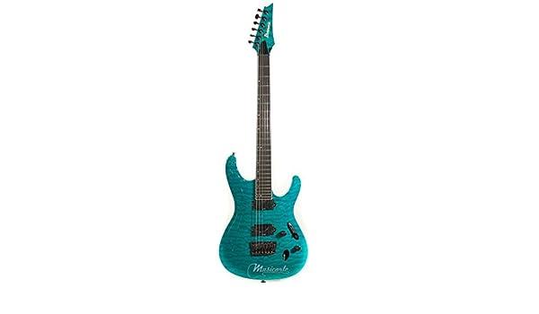Ibanez Prestige S5521Q-TAB · Guitarra eléctrica: Amazon.es ...