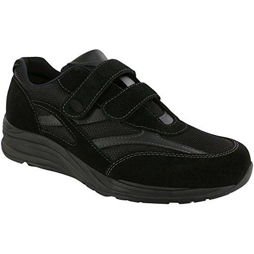 Sas Mensen, Reis Mesh Slip Bij Het Lopen Sneakers Zwart