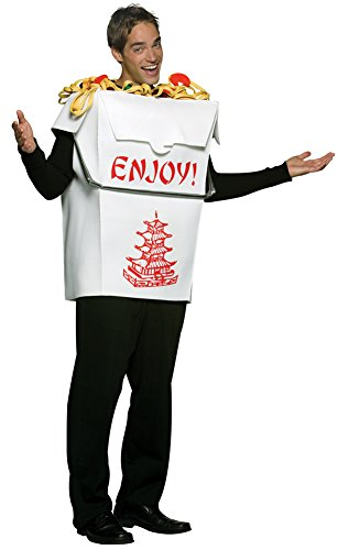Mens Halloween Costume- Chinese Take Out Adult -