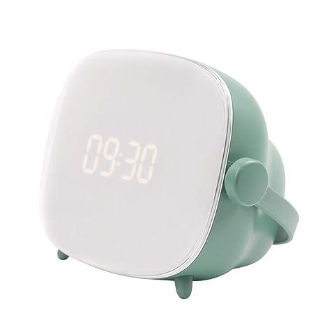XUEQQ despertadores Creativo Ojo lámpara TV Reloj ...