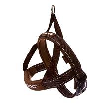 EzyDog Quick Fit Dog Harness, X-Large, Chocolate