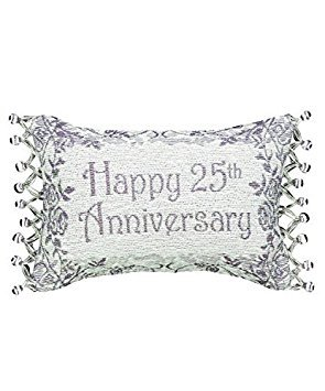 Manual Woodworkers & Weavers Word Throw Pillow, 25th