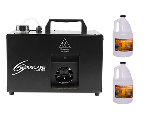 CHAUVET DJ Hurricane Haze 1DX HHAZE1DX Machine +2x Fluid/Juice Gallon by CHAUVET DJ