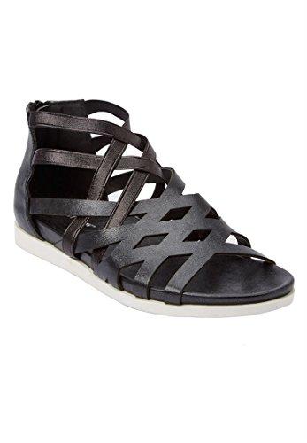 Koopje Catalogus Outlet Comfortview Plus Size Teegan Sandalen Zwart