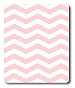 cloth mats Chevron Pink Pattern PC Custom Mouse Pads / Mouse Mats Case Cover