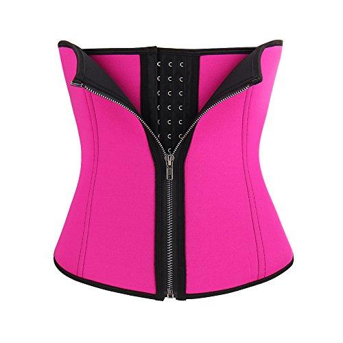 Discount FeelinGirl Women's Double Control Waist Trainer Corset Body Shaper Tummy Control for cheap