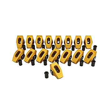 Image of Camera Supports & Stabilizers Crane Cams 11771-16 Gold Race Wide Rockers w/ 1.5 Ratio for 7/16' Stud Chevrolet 262-400 Small Block