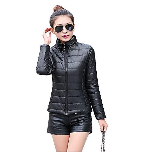 Corto Caldo Nero Moda Piumino Autunno Donna Yihigh Giacche Inverno Cappotto Trapuntato Imbottito Giacca E XCOxZa6wqR