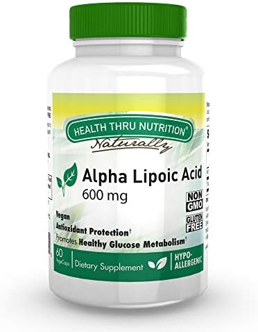 Alpha Lipoic 100mg Softgels Gluten product image