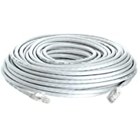 Cmple - CAT 6 500MHz UTP ETHERNET LAN NETWORK CABLE -w 100 FT White