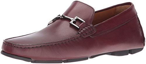Brevetto In Pelle Bruno Magli Mens Monza Slip-on Bordo