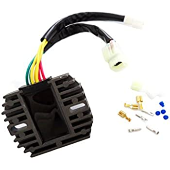 GSXR1000 05-12 Voltage Regulator Rectifier for Suzuki DL650 SFV650 SV650 SV1000 GSX650//F GSR750 GSF1250 Arctic Cat 01-09 375//400//500// TRV500 32800-16G00 3VD-81960-00-00 GSXR600 GSXR750 06-11