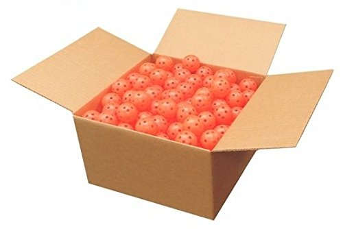 JP Lann Orange Perforated Practice Golf Balls Available in 12, 24, 60, 120 or 240 Count Each Sold Separately