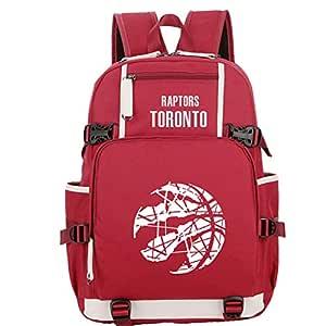 WNUVB Mochila De Estudiante Toronto Raptors Impreso Mochila Kawhi ...