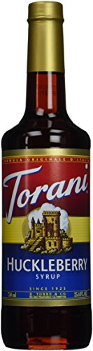 Torani Huckleberry Syrup  750 Ml