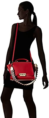 ZAC Zac Posen EARTHA ICONIC SOFT TOP HANDLE RED