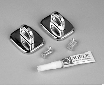 Desktop lock Anchors - two piece kit from Noble Security, Inc.