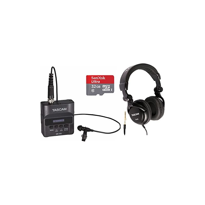 Tascam DR-10L Digital Recorder with Tasc
