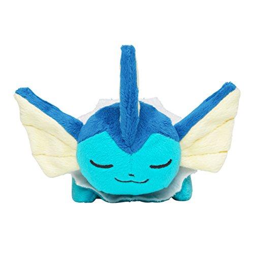 Pokemon Center Original Kuttari Stuffed Vaporeon Ver Good Night.