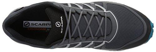 Neutron Runner Running Mens GTX SCARPA Gray Steel Shoe Trail 65qRFwA