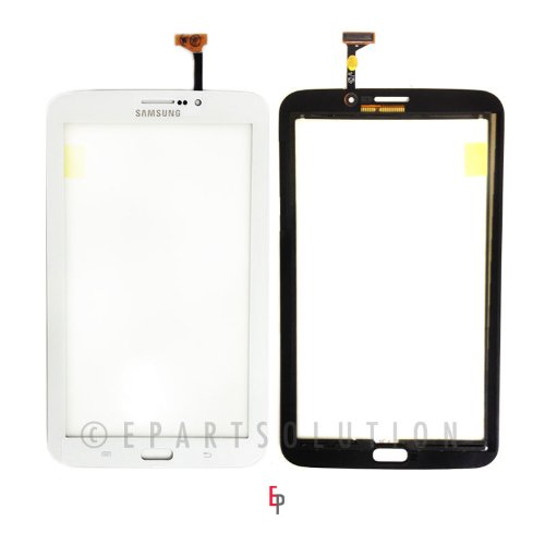 ePartSolution-OEM Samsung Galaxy Tab 3 7.0 P3200 P3210 P3220 T210 T211 White Touch Screen Digitizer Panel Glass Replacement Part Green USA Seller