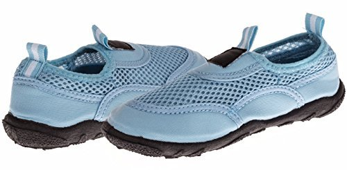 UPC 655091138769, Chatties Toddler Aqua Water Shoes - Blue, Size / Light Blue, Size 5 / 6 (More Colors and Sizes Available)