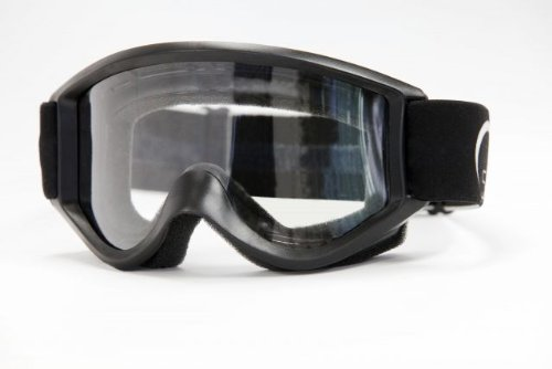 Smith Optics SC Black Clear Lens Goggle, Outdoor Stuffs