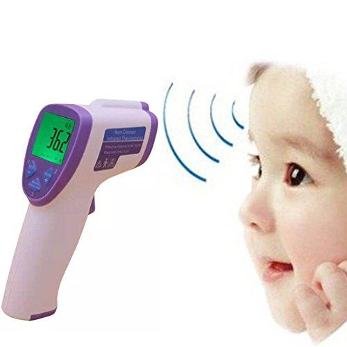 Non-contact Digital Infrared Thermometer Gun Multi-purpose Temperature Measurement Device for Baby/Child/Adult 3 Color Backlight