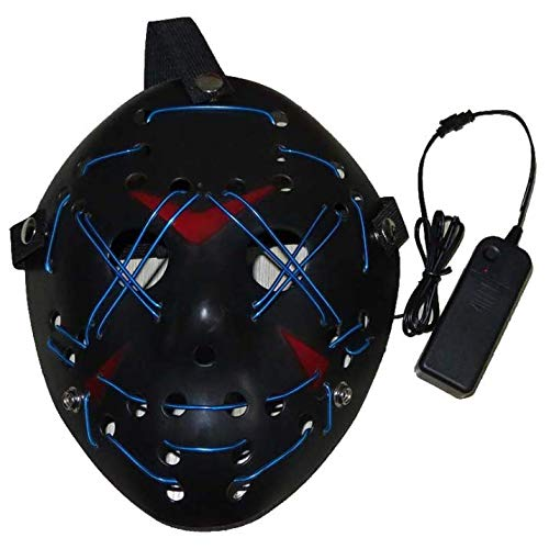 LED Halloween mask - Glowing mask mask led