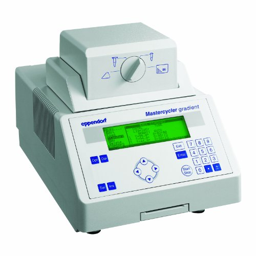 Eppendorf 950000015 Mastercycler Gradient Thermal Cycler SteadySlope with Heated Lid and One Personal Card, - Card Gradient