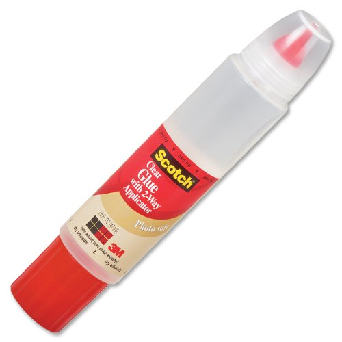 Office Glue (Scotch Glue with Two Way Applicator for the Home and Office, 1.6 Ounces (6050))