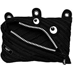 ZIPIT Monster 3-Ring Pencil Case, Black