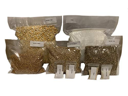 North Georgia Still Company's Complete Cracked Corn, Malted Barley, Rye & Wheat Whiskey Mash & Fermentation Kit