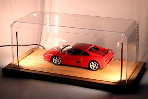 Hochwertige Acryl Vitrine im Maßstab 1:64 Zum Diecast Modell Spielzeug Autos