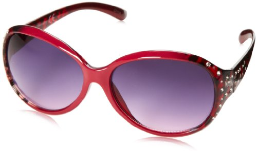union-bay-womens-u222-oval-sunglassesred60-mm