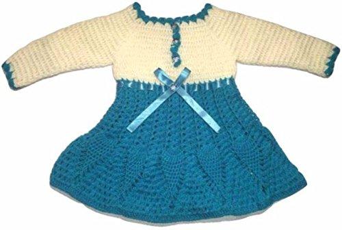 5f0d88d50 CutiePie Collections Baby Girl s Handmade Woollen Sweater Frock ...