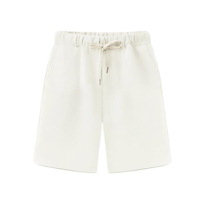64859ba2c7ea HaiDean Pantalon Corto Deporte Mujer Verano Modernas Casual Anchos ...