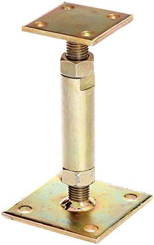 Almencla 2pcs Support//Poteau De Poteau De Voile Dombre du Soleil Poteaux De Soutien R/ésistants Dauvent Dauvent Taille De 22-54 Pouces