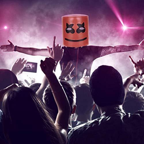 nicemeet Music DJ Mask Party Props Full Head