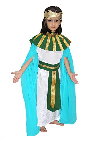 Egyptian Girl Costume of International Traditional Wear for Kids School Annual Function/Theme Party/Competition/Stage Shows/Birthday Party Dress]()