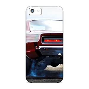 Hot Style Ugj2052PnkZ Protective Case Cover For Iphone5c(tire Smoking)