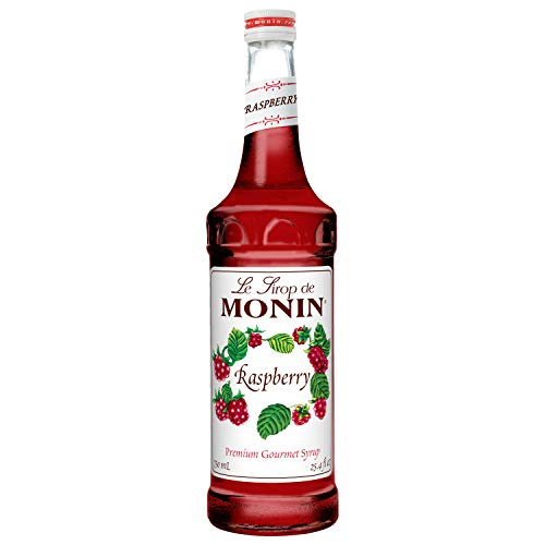 Monin Raspberry Syrup, 750 ML by Monin