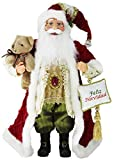 Windy Hill Collection 16'' Inch Standing Feliz Navidad Santa Claus Christmas Figurine Figure Decoration 16725