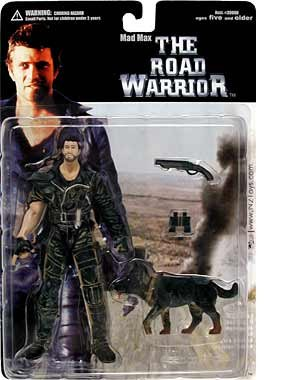 Road Warrior Mad Max with Dog Action Figure