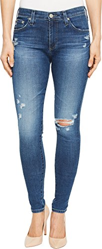 Ag Skinny Jeans - AG Adriano Goldschmied Women's Farrah High Rise Skinny Destructed Jean, Years Atlas, 29