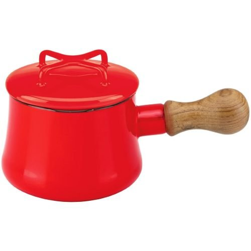 Dansk Mini Saucepan with Lid - Chili Red