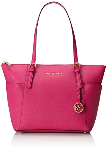Michael Michael Kors Jet Set Leather East/West Tote, ()