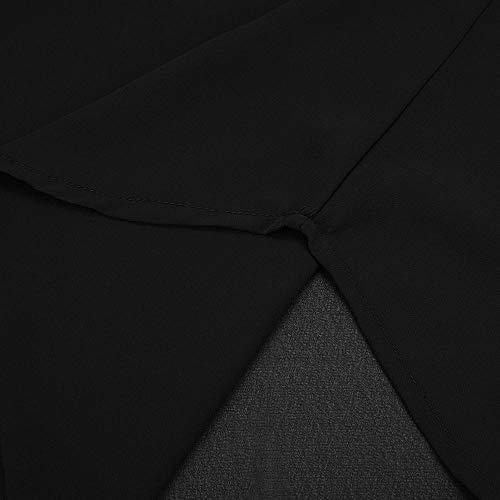 Manches Noir Tunique Chemisier Chemise Carreaux Femme Courtes Italien Women Col Kanpola 7wxg0Bp7